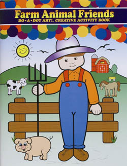 "Farm Animal Friends    ""Activiy Book"" picture"