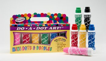 """MINI"" DotArt Markr. (6-Pk)  ""Jewel Tone"" [Washable] picture"