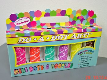 """ MINI ""DotArt Markr. (6-Pk) ""Island Bright' [Washable] picture"