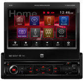 "DV705 - DVD Receiver with 7"" Touch Screen Display"
