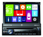 DV704Bi - DVD Multimedia Receiver with Built-in Bluetooth Direct USB Control for iPod/iPhone