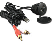 IP35USB - RCA & USB to 3.5mm & USB Adapter