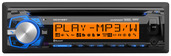 DC416BT - CD Receiver with Built-in Bluetooth® and RGB Custom Colors