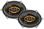 "DLS6840 -  6"" x 8"" / 5"" x 7"" Multi-Fit  4-Way Speakers"