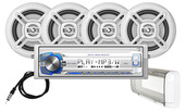"MCP1364BTS  - Digital Media Receiver, Bluetooth®, Splashguard and (4) 6.5"" Speakers"