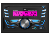 DC525Bi - 2.0 DIN CD Receiver with Built-in Bluetooth® and RGB Custom Colors
