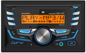 DC426BT - 2.0 Din CD Receiver with Built-in Bluetooth® and RGB Custom Colors
