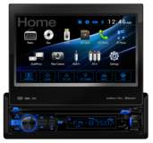 DV737MB - DVD Receiver with Built-In Bluetooth® and 2-Way DualMirror