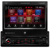 """DV705 - DVD Receiver with 7"""" Touch Screen Display"""