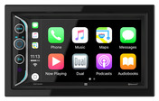 """DAC1025BT 6.2"""" LED Backlit LCD Digital Multimedia Touch Screen Double DIN Car Stereo with Built-In Apple CarPlay, Bluetooth & USB Port"""