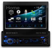 DV735MB -  DVD Receiver with Built-In Bluetooth® and 2-Way DualMirror™