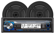 """MCP103B- Digital Media Receiver with SD Card, USB Inputs and 6.5"""" Speakers"""