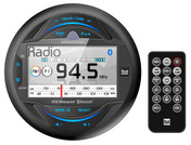 "MGH37BT - Gauge Hole Media Receiver with 3"" LCD, Bluetooth® and iPlug Smart App Control"