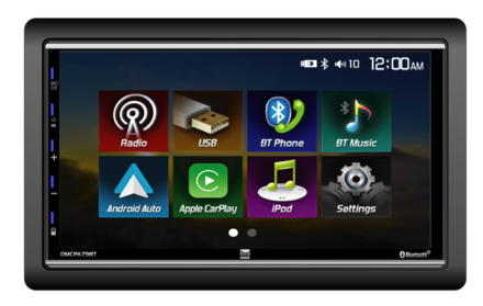 DMCPA79BT - Digital Media Receiver with Apple CarPlay™ and Android Auto picture