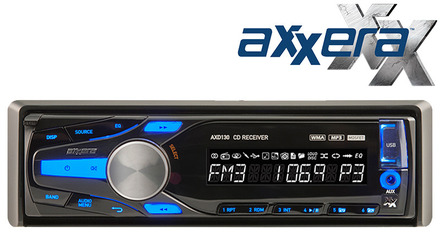 AXD130 - CD Receiver with Front Panel USB Input picture