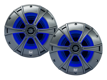 "DMS6516 - 6.5"" 2-Way Marine Speakers   with Blue illumiNITE™ LED Lighting picture"