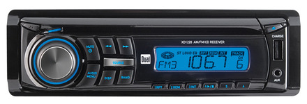 XD1228 - CD Receiver with Front Panel Aux Input & USB Charging Port picture