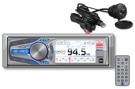 AM505BT - Digital Media Receiver with a 600 Watt Digital Amplifier and Built-in Bluetooth