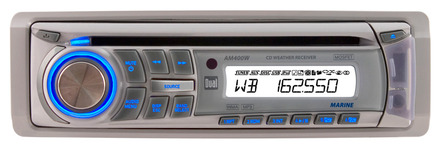 AM400W - Marine CD Receiver with Direct USB Control for iPod/iPhone picture