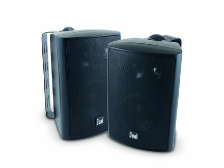 LU43PB - 3-Way Indoor/Outdoor Speakers (Black)