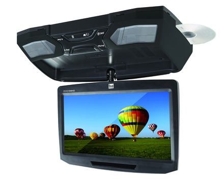 "DVC104HD - Universal 10.1"" Flipdown Monitor with DVD Player and HDMI Input"