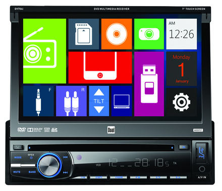 DV704i - DVD Multimedia Receiver with Direct USB Control for iPod/iPhone picture