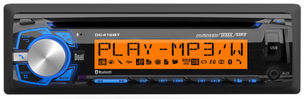 DC416BT - CD Receiver with Built-in Bluetooth® and RGB Custom Colors picture