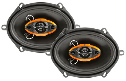 """DLS6840 -  6"""" x 8"""" / 5"""" x 7"""" Multi-Fit  4-Way Speakers picture"""