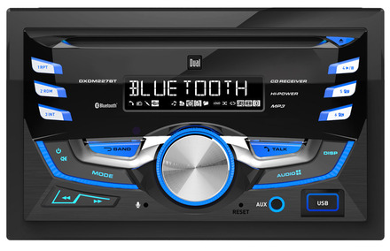 DXDM227BT - 2.0 DIN CD Receiver with Built-In Bluetooth picture