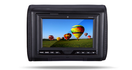 """DVH704HD - Universal 7"""" Headrest Monitor with DVD Player and HDMI/MHL Input picture"""