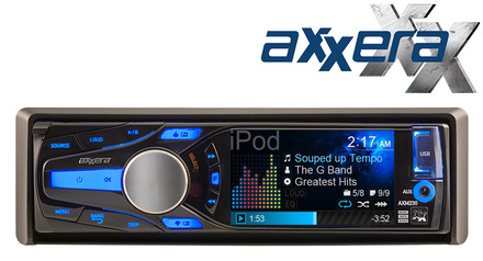 "AXM230 - Multi-Format Mechless Receiver with 3"" QVGA LCD picture"