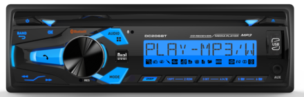 DC206BT - CD Receiver with Built-in Bluetooth picture