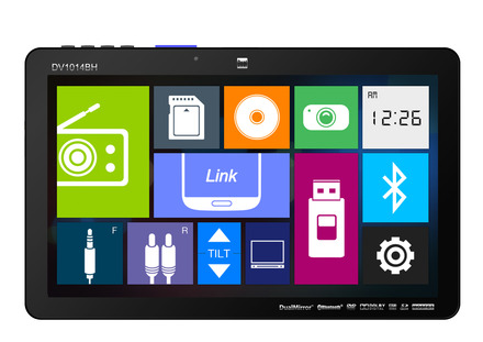 "DV1014BH - DVD Receiver with 10.1"" LCD , Bluetooth & HDMI picture"
