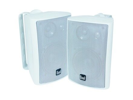 LU43PW - 3-Way Indoor/Outdoor Speakers (White)