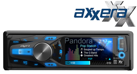 """AXD530 - Multi-Format CD Receiver with Built-in Bluetooth® and  3"""" QVGA LCD picture"""