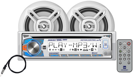 "AMCP425BT - CD Receiver with Motion Control, Bluetooth® and 6.5"" Speakers picture"