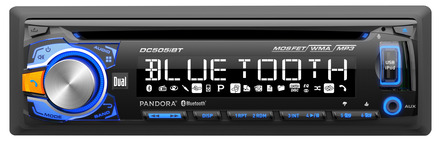 DC505iBT - CD Receiver with Built-in Bluetooth®, Direct USB Control for iPod and iPhone picture