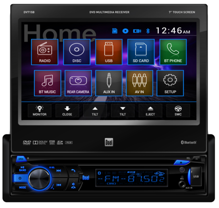 DV715B - DVD Receiver with Built-In Bluetooth® picture