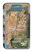 MFC Waterproof Fly Box - Lower Madison River Map - Large
