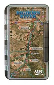 MFC Waterproof Fly Box - Bighorn River Map - Large