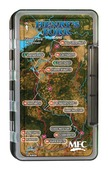 MFC Waterproof Fly Box - Henry's Fork River Map - Large