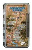 MFC Waterproof Fly Box - Missouri River Map - Large