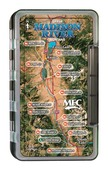 MFC Waterproof Fly Box - Upper Madison River Map - Large