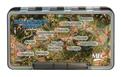 MFC Waterproof Fly Box - Blackfoot River Map - Large