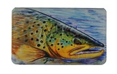 MFC Midge Flyweight Fly Box - Hallock's Brown Trout