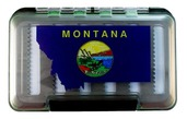 MFC Waterproof Fly Box - Montana State Flag - Medium