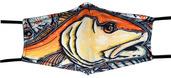 MFC PM2.5 Filter Facemask - Estrada's Redfish