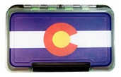 MFC Waterproof Fly Box - Colorado State Flag - Medium