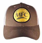MFC Trucker Hat - Mountain MFC Logo Patch - Brown