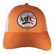 MFC Trucker Hat - Mountain Logo Patch - Burnt Orange